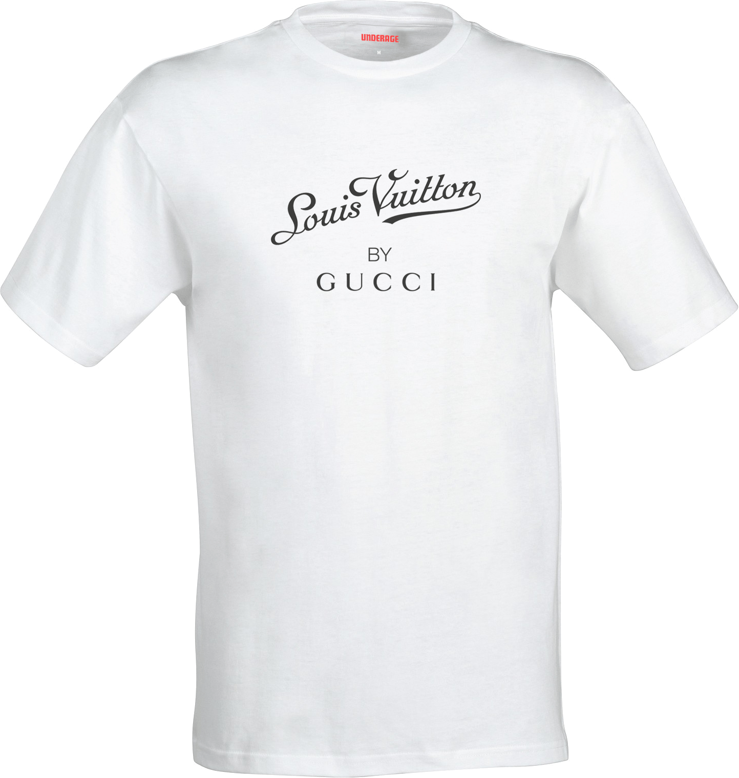 louis by gucci t shirt white underage. Black Bedroom Furniture Sets. Home Design Ideas
