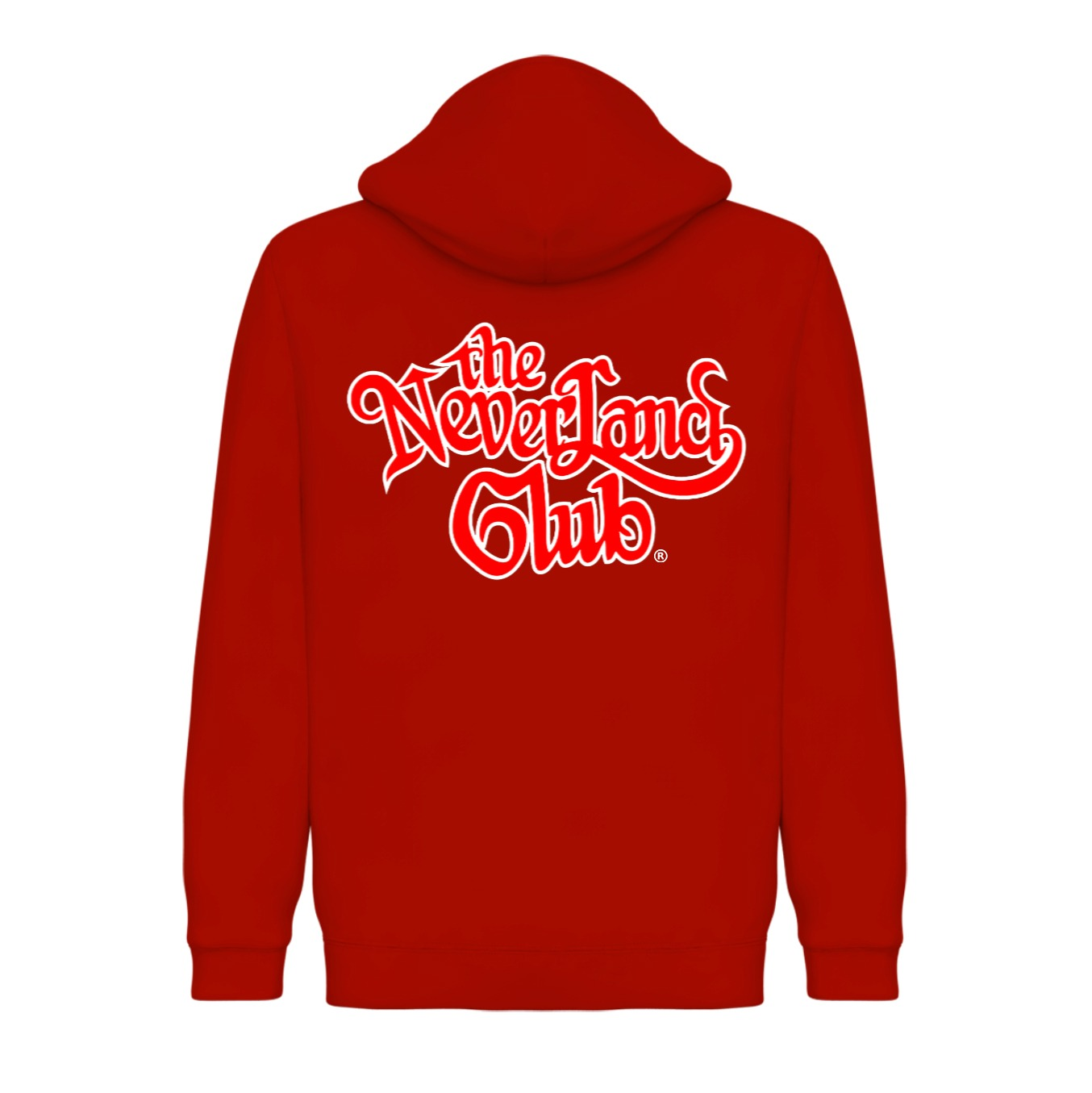 33d50cb64 'The Neverland Club' Pullover Hoodie (Red)