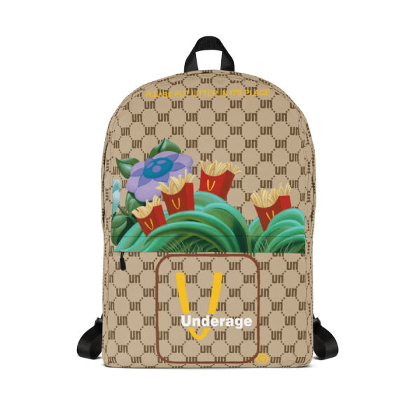 Monogram Fast Fry Patch Backpack