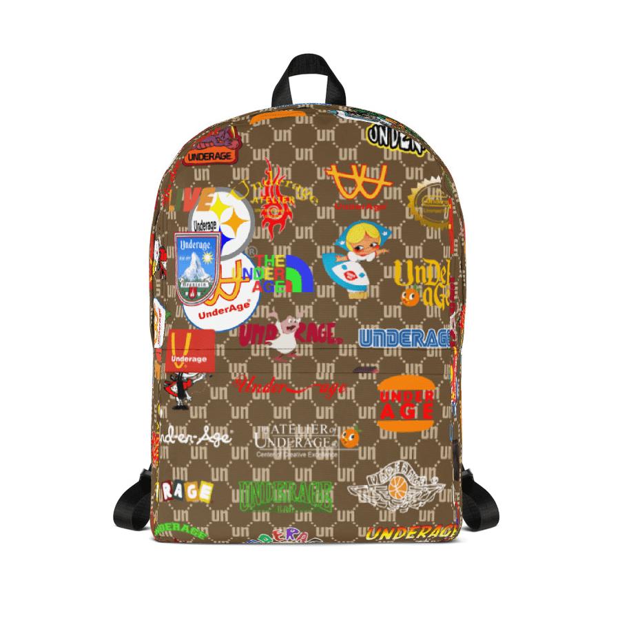 Monogram Logos Backpack