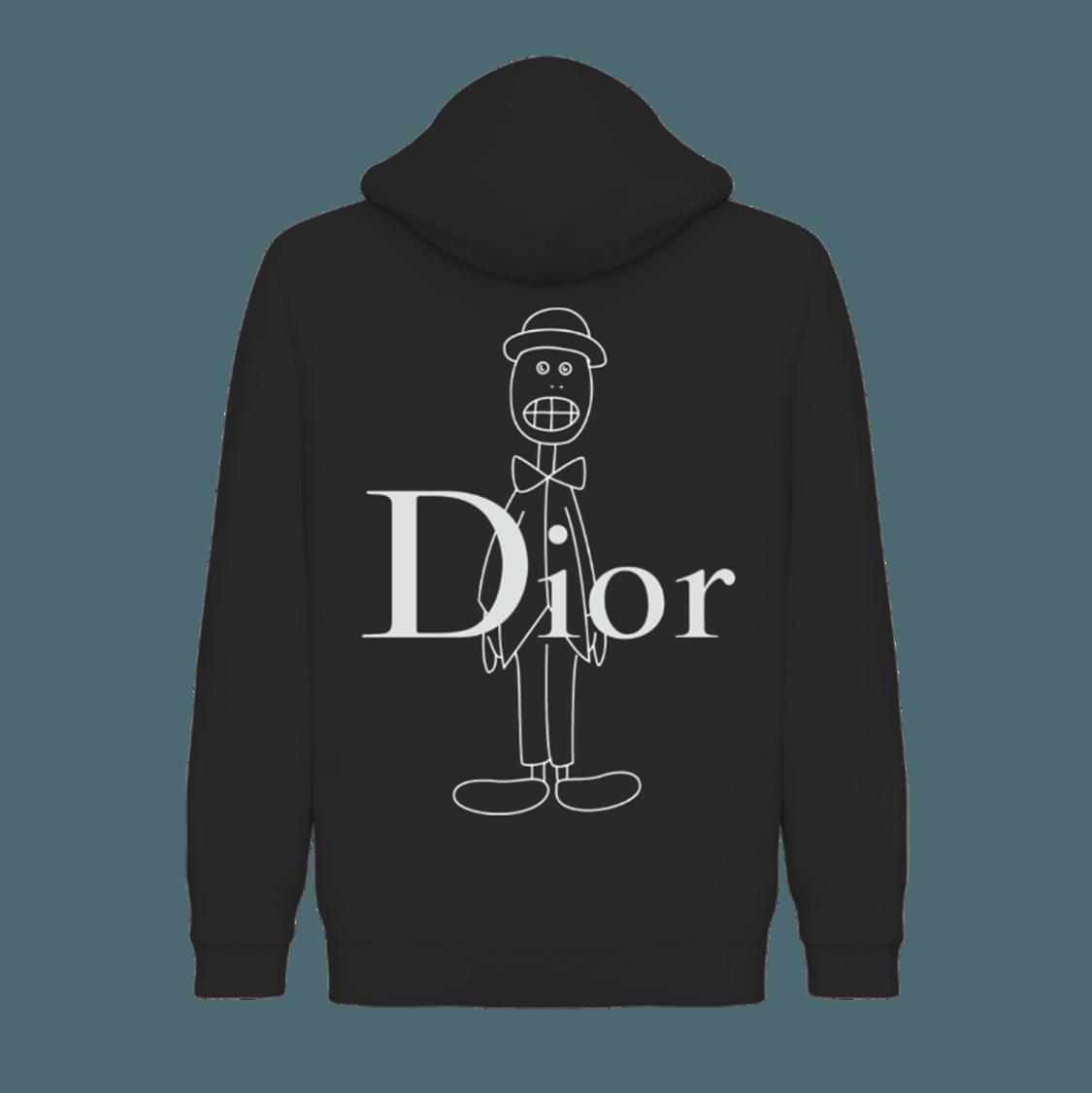 Skullhead Dior Pullover Hoodie