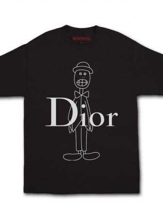 Dior print t-shirt