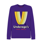 Longsleeve T-Shirt Purple