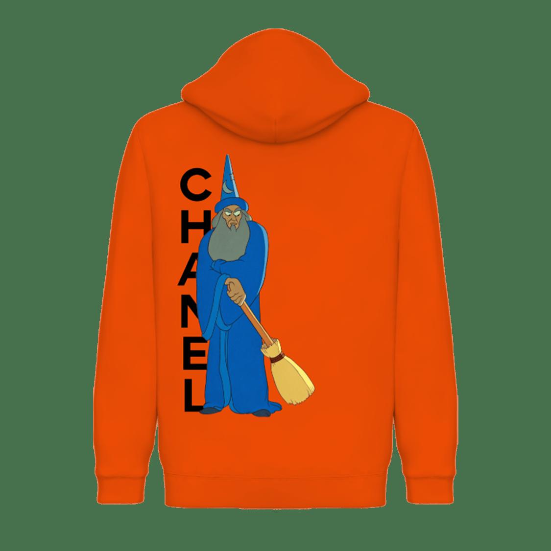 Pullover Hoodie Orange
