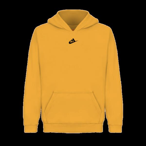 Mini Logo Pullover Hoodie