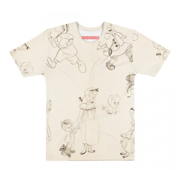 Underage Darling sketch tshirt product front