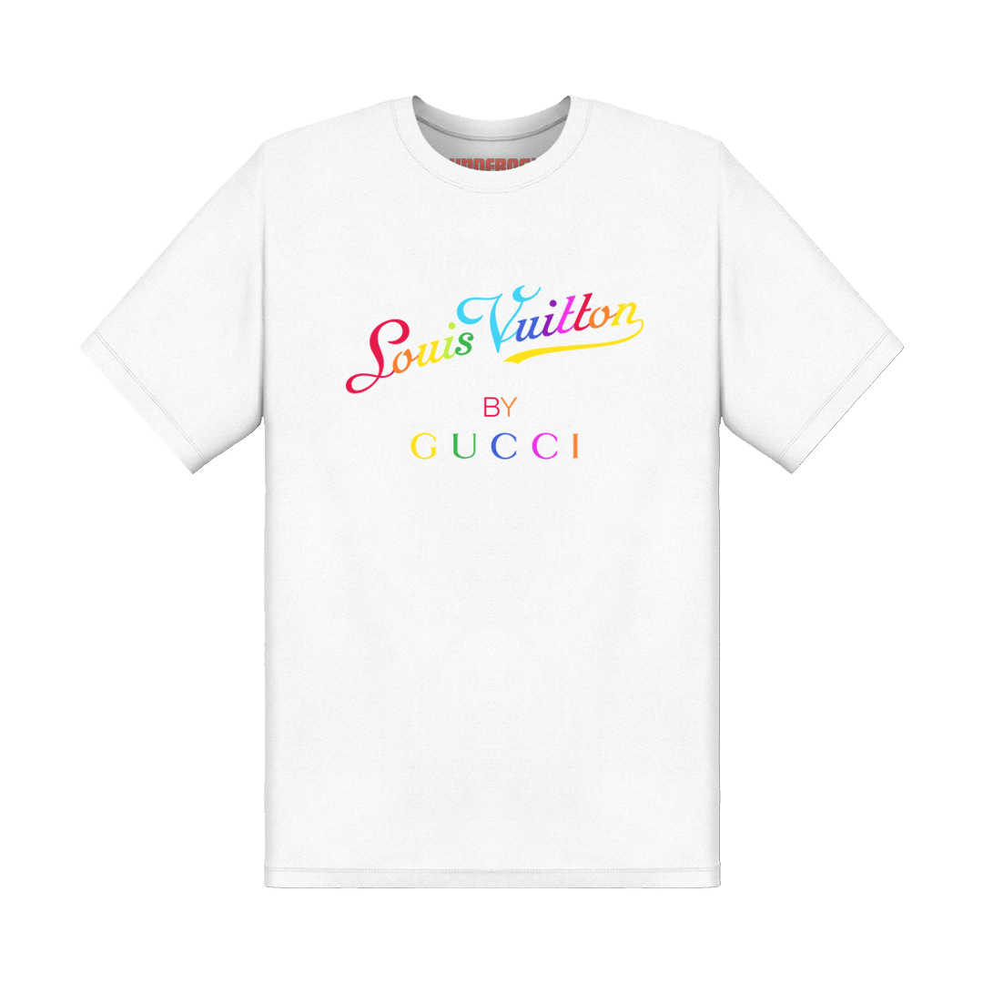 Gucci Rainbow T-Shirt (White)