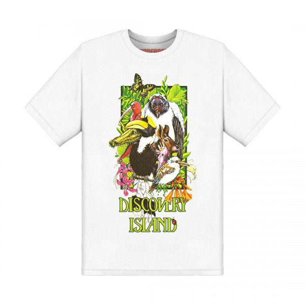 Underage discovery island tshirt white product front