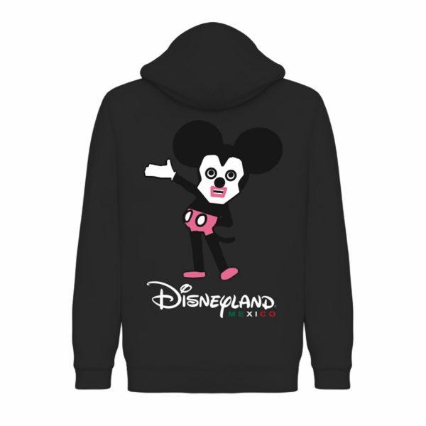 Underage disneyland mexico hoodie black back product