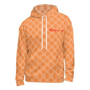 Underage matrix hoodie orange product front 545