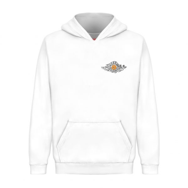 Underage Miguel jordan pullover hoodie white product front