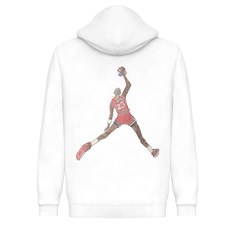 Underage miguel jordino pullover hoodie white back