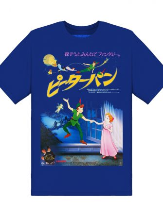 Underage peter pan japan poster tshirt blue product front