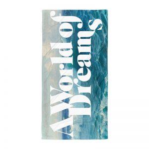 Underage towel product ocean world of dreams edition blue