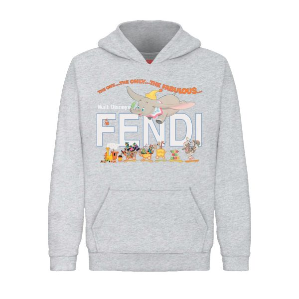 Underage the one the only pullover hoodie product heather grey front