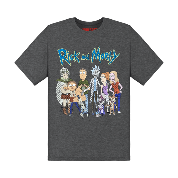 Underage louis vuitton rick and morty tshirt grey front product