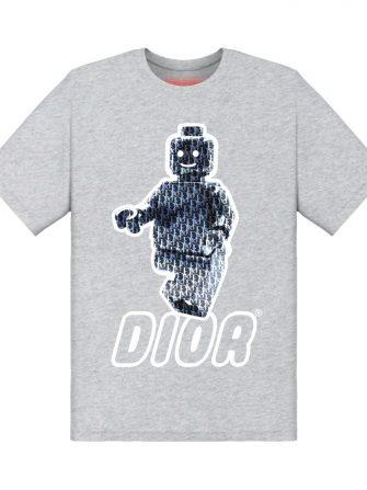 Underage dior lego tshirt product heather grey