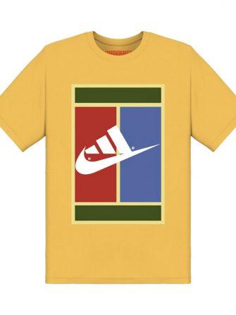 Underage nidas court tshirt product yellow