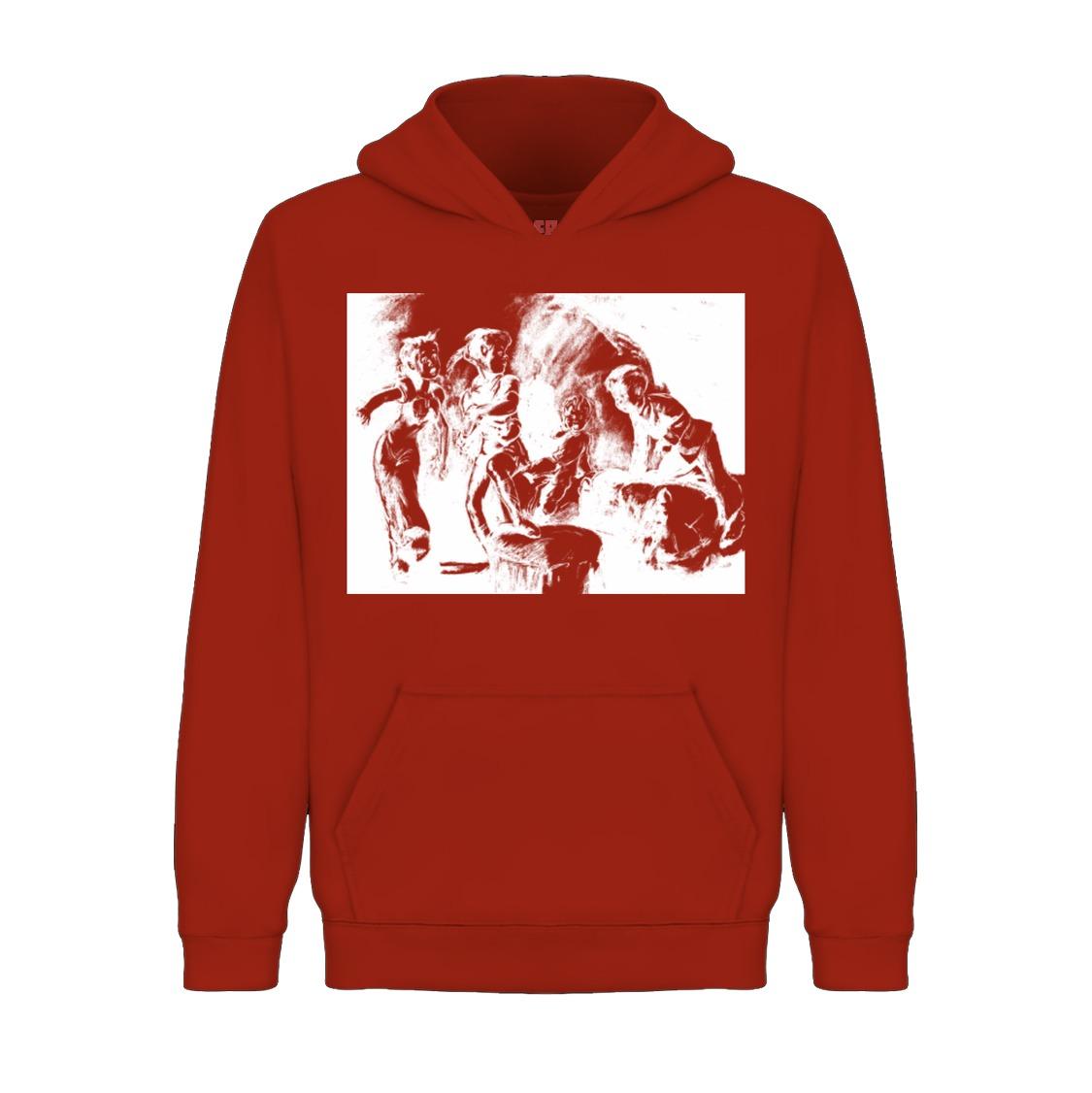Underage darlings hoodie product red front
