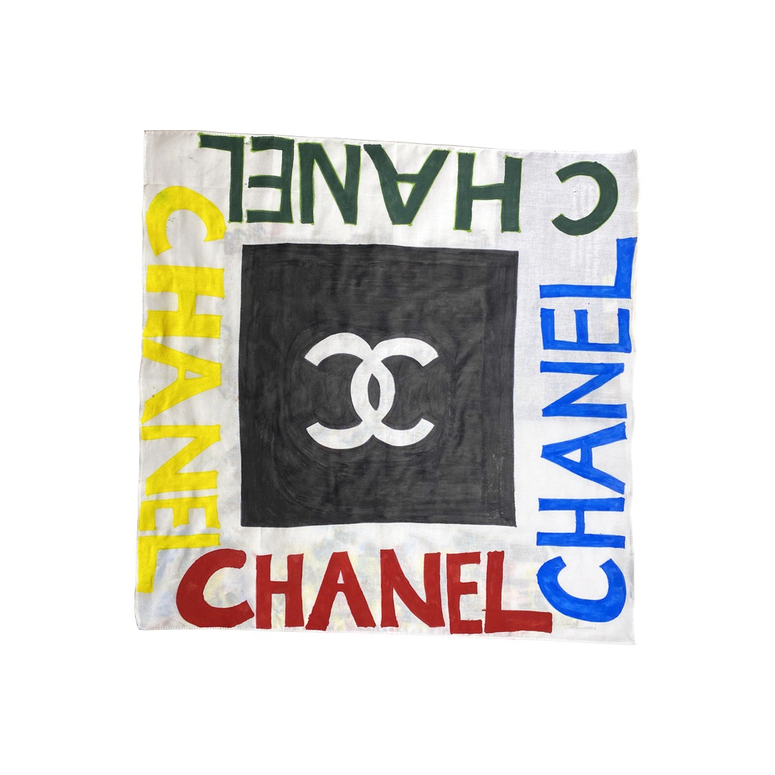 Underage chanel scarf product