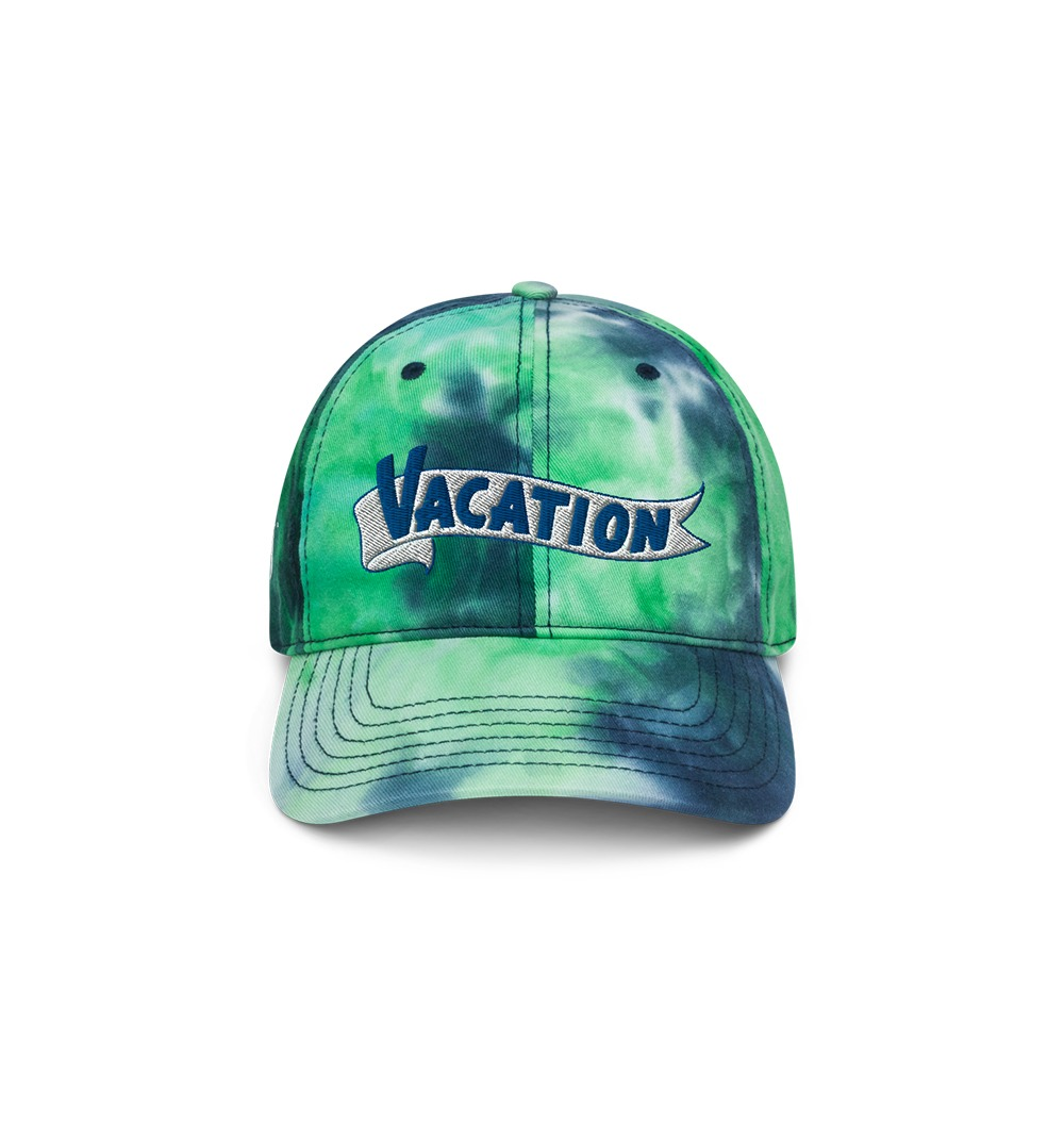 Underage vacation tie dye hat product front