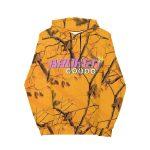 Vanilla space broken world hoodie product orange camo