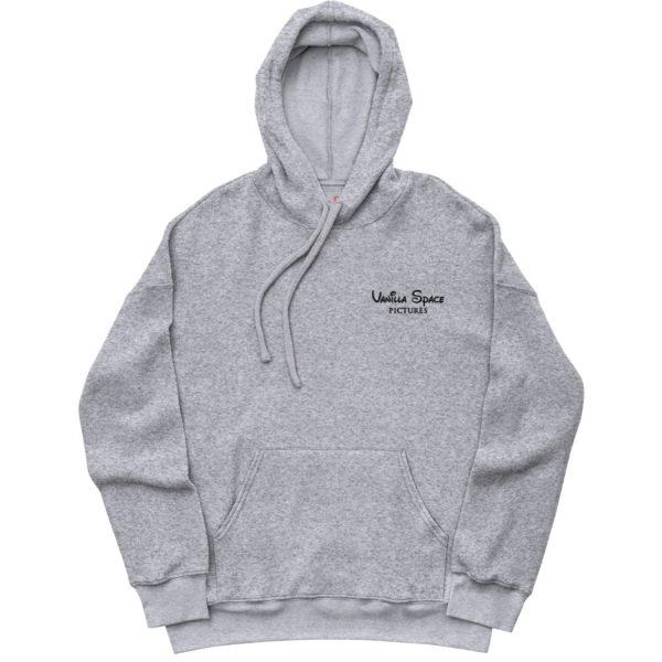 Vanilla space sueded fleece hoodie product athletic heather