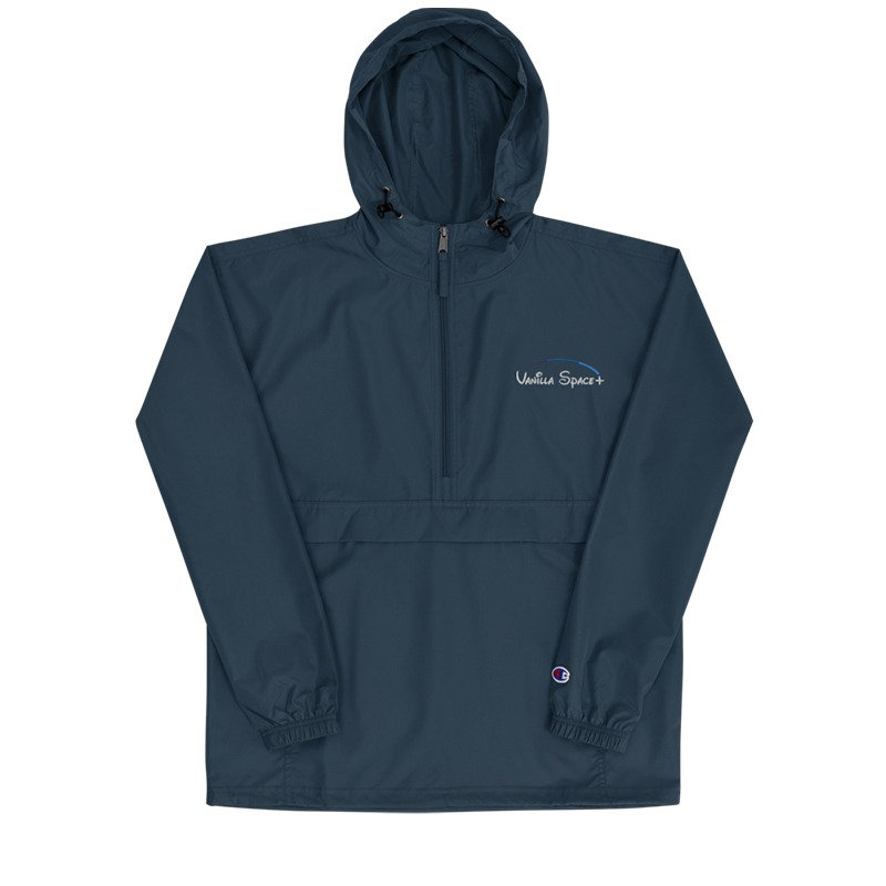 Vanilla space champion jacket product front