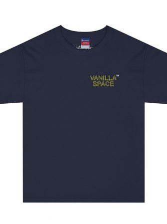 Vanilla space star cluster tshirt navy product front